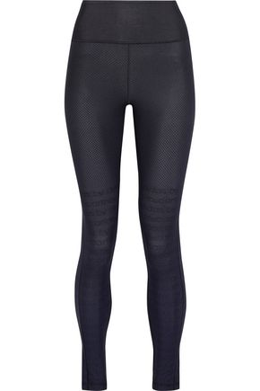 ADIDAS by STELLA McCARTNEY Printed Climalite stretch leggings