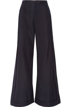 JACQUEMUS Wool wide-leg pants