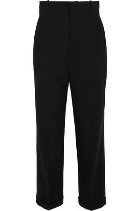 JACQUEMUS Cropped wool-crepe tapered pants