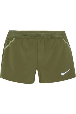 NIKE Aeroswift stretch-shell shorts