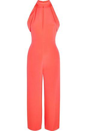 CUSHNIE ET OCHS Lauren cutout silk jumpsuit