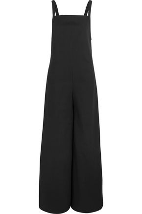 ADAM LIPPES Cotton-blend poplin jumpsuit