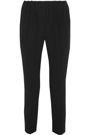 BRUNELLO CUCINELLI Crepe tapered pants