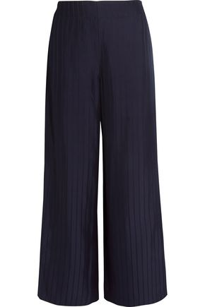ACNE STUDIOS Tennessee striped twill wide-leg pants