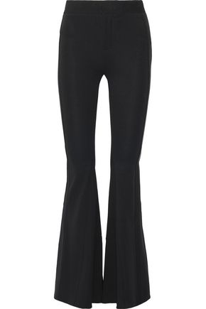 GIVENCHY Stretch-crepe flared pants