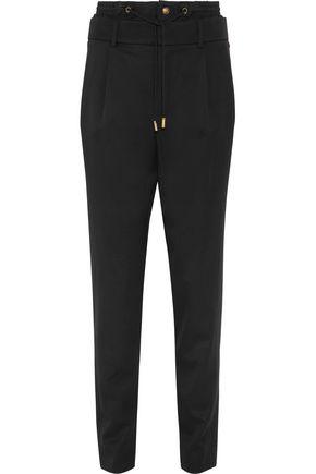 SAINT LAURENT Wool straight-leg pants