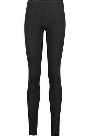 ALICE + OLIVIA Ronnie ribbed wool leggings