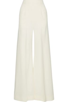 ROLAND MOURET Harrison stretch-cady wide-leg pants
