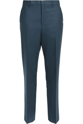 JIL SANDER Valerio wool-blend felt tapered pants