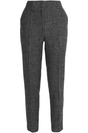 BY MALENE BIRGER Zalandine wool-blend felt slim-leg pants
