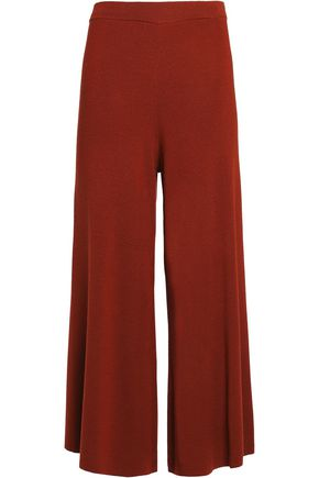 BY MALENE BIRGER Charlone cropped wool-blend wide-leg pants