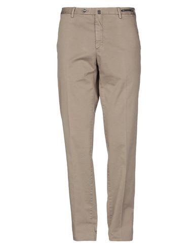 Фото - Повседневные брюки от PT01 цвет голубиный серый