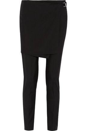 A.L.C. Elizabeth skirt-effect wool-blend pants