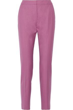 MAX MARA Wool-twill tapered pants