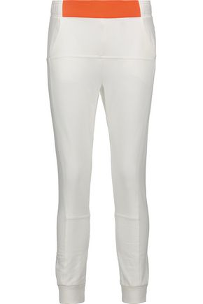 ADIDAS by STELLA McCARTNEY Cotton-blend track pants