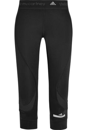 ADIDAS by STELLA McCARTNEY Run Climalite cropped stretch leggings