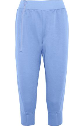 ADIDAS by STELLA McCARTNEY Cropped scuba track pants