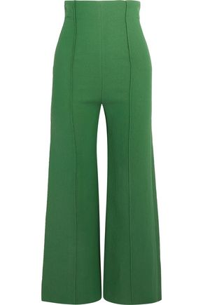 EMILIA WICKSTEAD Hullinie cloqué wide-leg pants