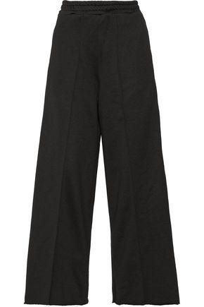 GOLDEN GOOSE DELUXE BRAND Sophie satin-trimmed cady wide-leg pants