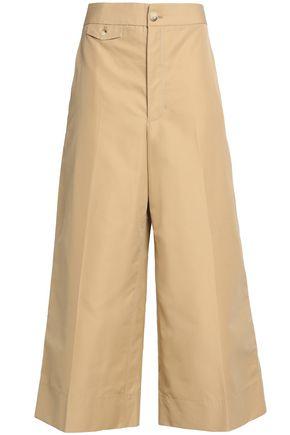 HELMUT LANG Cotton-gabardine culottes