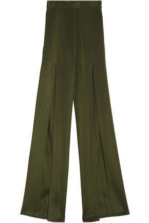 BALMAIN Stretch-knit flared pants