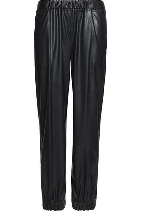 MM6 MAISON MARGIELA Faux leather tapered pants