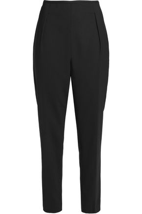 DKNY Stretch-wool crepe tapered pants