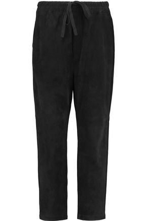 VINCE. Suede wide-leg pants