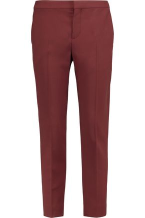 CHLOÉ Stretch-wool straight-leg pants