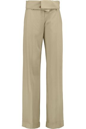MICHAEL KORS COLLECTION Virgin wool wide-leg pants