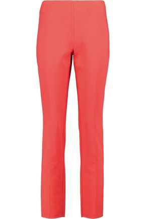 MICHAEL KORS COLLECTION Stretch-wool slim-leg pants
