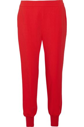 STELLA McCARTNEY Julia crepe tapered pants