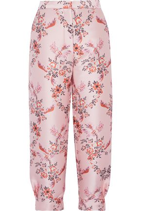 STELLA McCARTNEY Luisa brocade tapered pants