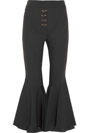 ELLERY Sin City crepe flared pants