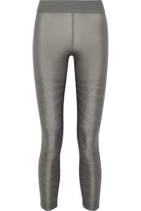 ADIDAS by STELLA McCARTNEY Stretch-jacquard leggings