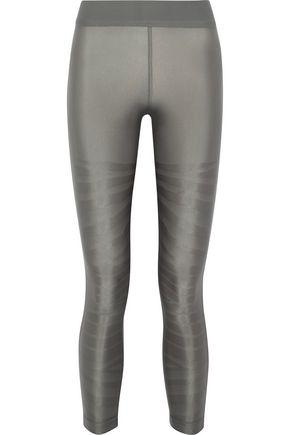 ADIDAS by STELLA McCARTNEY Stretch-jacquard leggings