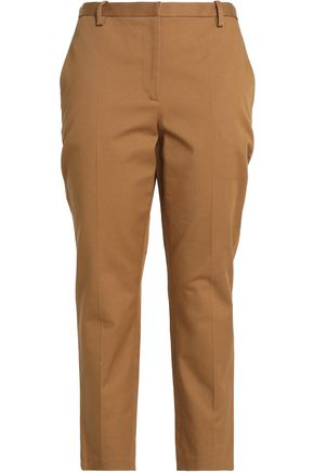 ROSETTA GETTY Cotton-blend gabardine tapered pants