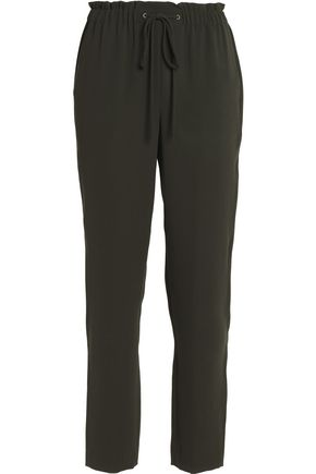 THEORY Crepe slim-leg pants