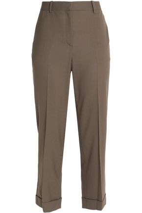 THEORY Wool straight-leg pants