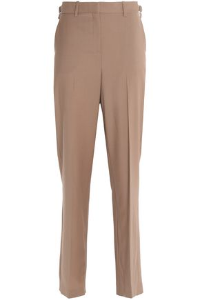 THEORY Wool-blend straight-leg pants