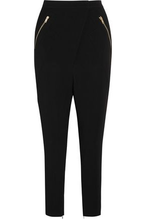 GIVENCHY Tailored pants in black stretch-cady