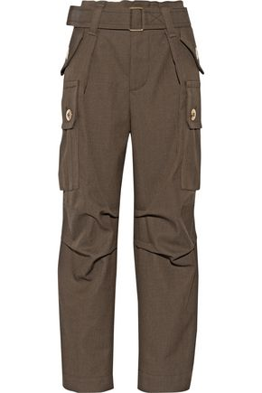 MARC JACOBS Wool-twill cargo pants
