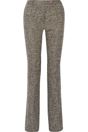 BELSTAFF Derby wool-tweed bootcut pants