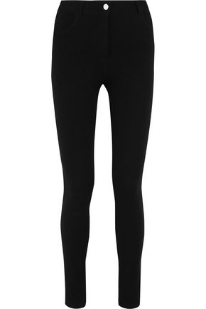 GIVENCHY Leggings in black stretch-twill