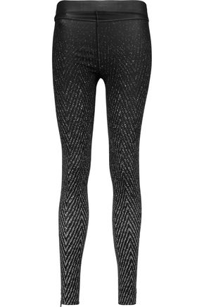 RAG & BONE/JEAN Lawson printed stretch-jersey leggings