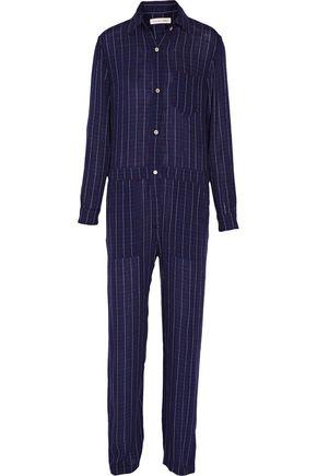ISABEL MARANT ÉTOILE Peters checked flannel jumpsuit