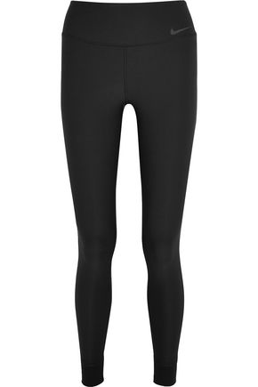 NIKE Power Legend mesh-paneled Dri-FIT stretch leggings