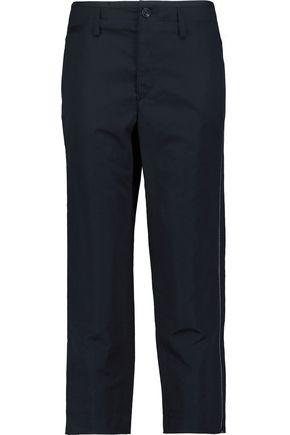 RAG & BONE Ashbury cropped cotton and linen-blend pants