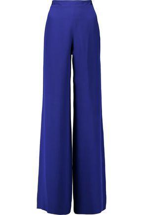 EMILIO PUCCI Silk wide-leg pants