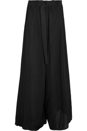 ANN DEMEULEMEESTER Georgette pants